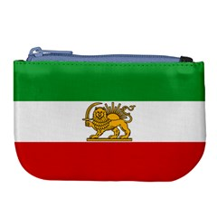 State Flag Of Iran, 1964–1980 Large Coin Purse by abbeyz71