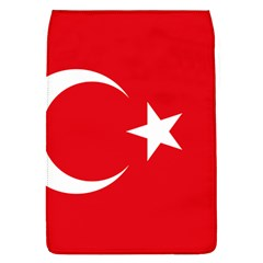 Flag Of Turkey Removable Flap Cover (l) by abbeyz71