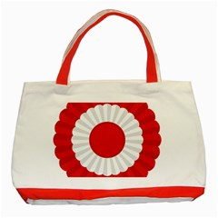 National Cockade Of Turkey Classic Tote Bag (red) by abbeyz71