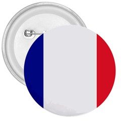 Flag Of France 3  Buttons by abbeyz71