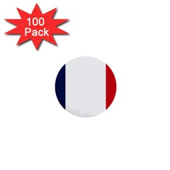 Flag Of France 1  Mini Buttons (100 Pack)  by abbeyz71