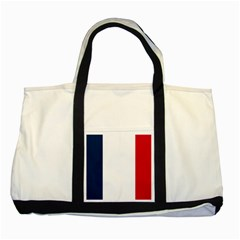 Flag Of France Two Tone Tote Bag by abbeyz71