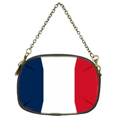 Flag Of France Chain Purse (one Side) by abbeyz71