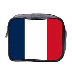 Flag Of France Mini Toiletries Bag (two Sides) by abbeyz71