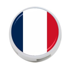 Flag Of France 4-port Usb Hub (one Side) by abbeyz71