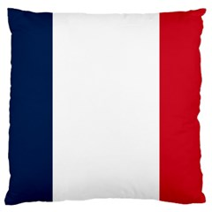Flag Of France Large Cushion Case (two Sides) by abbeyz71