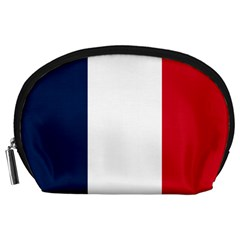Flag Of France Accessory Pouch (large) by abbeyz71