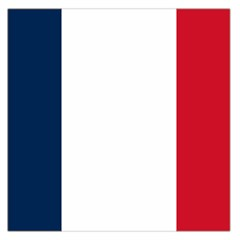 Flag Of France Large Satin Scarf (square) by abbeyz71