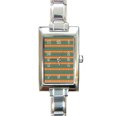 Background Texture Fabric Rectangle Italian Charm Watch by Mariart