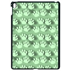 Pattern Texture Feet Dog Green Apple Ipad Pro 9 7   Black Seamless Case by HermanTelo