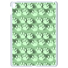 Pattern Texture Feet Dog Green Apple Ipad Pro 9 7   White Seamless Case