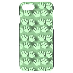Pattern Texture Feet Dog Green Iphone 7/8 Black Uv Print Case