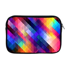 Abstract Background Colorful Pattern Apple Macbook Pro 17  Zipper Case