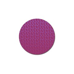 Background Polka Pattern Pink Golf Ball Marker (4 Pack)
