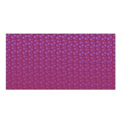 Background Polka Pattern Pink Satin Shawl