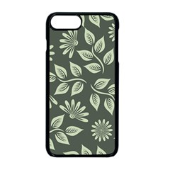 Flowers Pattern Spring Nature Iphone 8 Plus Seamless Case (black)