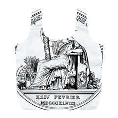 Great Seal Of France Full Print Recycle Bag (l) by abbeyz71
