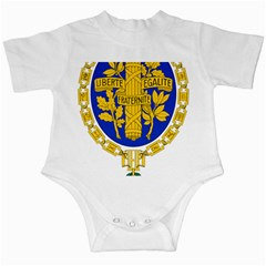 Coat O Arms Of The French Republic Infant Creepers by abbeyz71