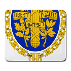 Coat O Arms Of The French Republic Large Mousepads by abbeyz71