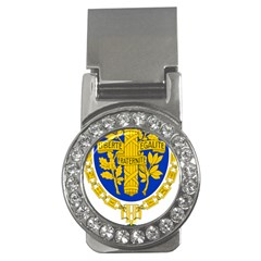 Coat O Arms Of The French Republic Money Clips (cz)  by abbeyz71