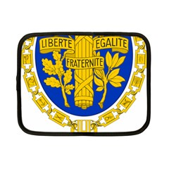Coat O Arms Of The French Republic Netbook Case (small) by abbeyz71