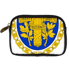 Coat O Arms Of The French Republic Digital Camera Leather Case by abbeyz71