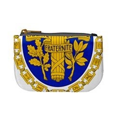 Coat O Arms Of The French Republic Mini Coin Purse by abbeyz71