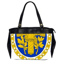 Coat O Arms Of The French Republic Oversize Office Handbag (2 Sides) by abbeyz71