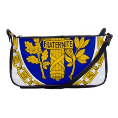 Coat O Arms Of The French Republic Shoulder Clutch Bag by abbeyz71