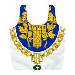 Coat O Arms Of The French Republic Full Print Recycle Bag (l) by abbeyz71