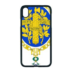 Coat O Arms Of The French Republic Iphone Xr Seamless Case (black) by abbeyz71