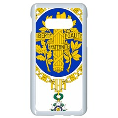 Coat O Arms Of The French Republic Samsung Galaxy S10e Seamless Case (white) by abbeyz71