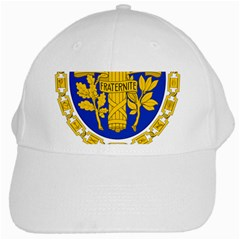 Coat Of Arms Of The French Republic White Cap by abbeyz71