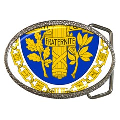 Coat Of Arms Of The French Republic Belt Buckles by abbeyz71