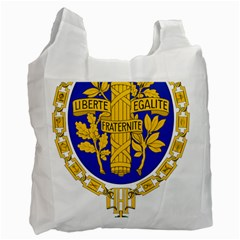 Coat Of Arms Of The French Republic Recycle Bag (one Side) by abbeyz71