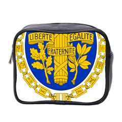 Coat Of Arms Of The French Republic Mini Toiletries Bag (two Sides) by abbeyz71