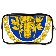 Coat Of Arms Of The French Republic Toiletries Bag (one Side) by abbeyz71