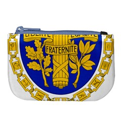 Coat Of Arms Of The French Republic Large Coin Purse by abbeyz71