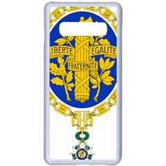 Coat Of Arms Of The French Republic Samsung Galaxy S10 Plus Seamless Case(white) by abbeyz71
