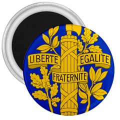 Arms Of The French Republic 3  Magnets by abbeyz71