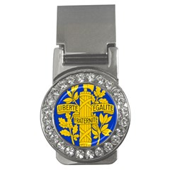 Arms Of The French Republic Money Clips (cz)  by abbeyz71