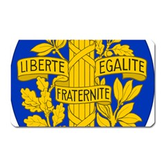 Arms Of The French Republic Magnet (rectangular) by abbeyz71