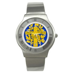 Arms Of The French Republic Stainless Steel Watch by abbeyz71