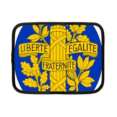 Arms Of The French Republic Netbook Case (small) by abbeyz71