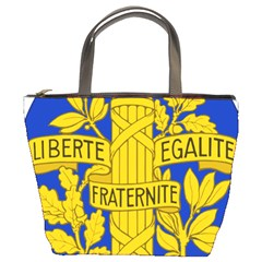 Arms Of The French Republic Bucket Bag by abbeyz71