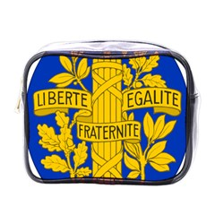 Arms Of The French Republic Mini Toiletries Bag (one Side) by abbeyz71
