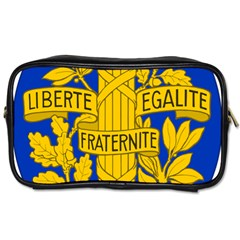 Arms Of The French Republic Toiletries Bag (one Side) by abbeyz71