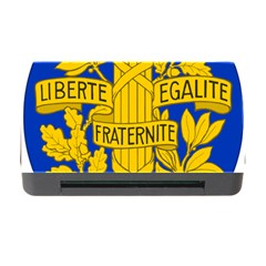 Arms Of The French Republic Memory Card Reader With Cf by abbeyz71