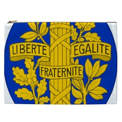 Arms Of The French Republic Cosmetic Bag (xxl) by abbeyz71