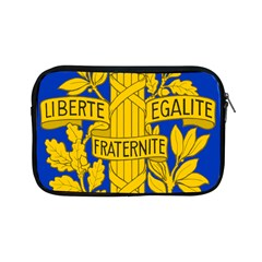 Arms Of The French Republic Apple Ipad Mini Zipper Cases by abbeyz71